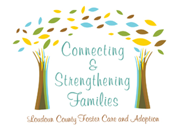 Foster Care Logo - Connecting and Strenghtening Families