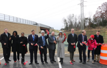 Photo of Belmont Ridge Road Ribbon Cutting