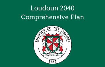 "Image of County Seal with the words ""Loudoun 2040 Comprehensive Plan"""