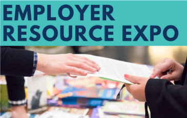 Image of Employer Expo Graphic from Flyer