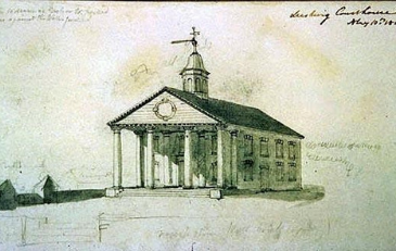 Image of 1815 Loudoun County Courthouse