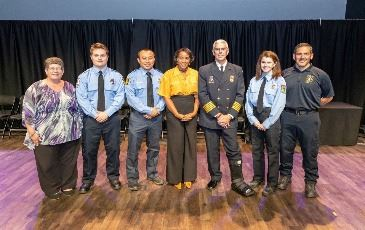 Top Recruits Fall 2019 Volunteer Graduation