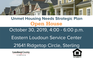 Image of Unmet Housing Needs Open House Flyer