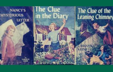 Image of Nancy Drew book covers