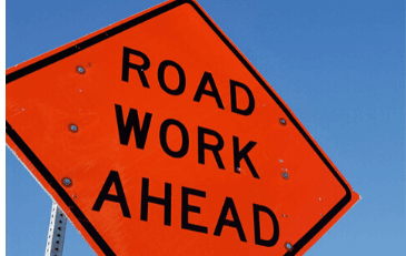 Image of Road Work Ahead Sign