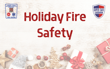 Holiday Fire Safety Newsflash