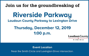 Image of Riverside Parkway Groundbreaking Graphic