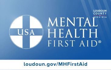 Image of Mental Health First Aid Graphic