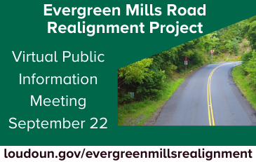 Graphic for Evergreen Mills Virtual Meeting