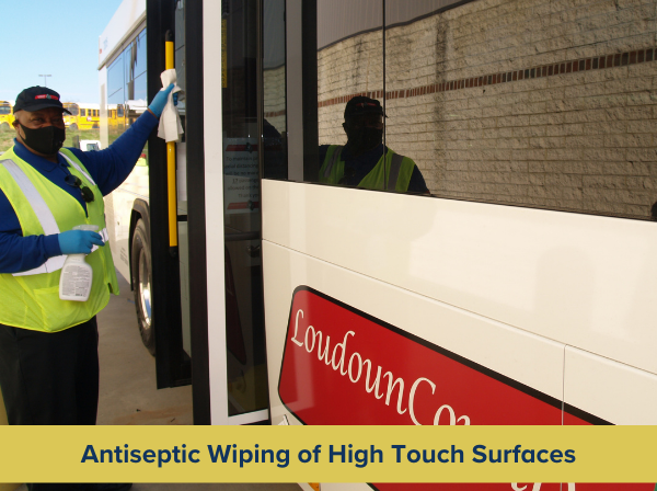 Antiseptic Wiping of High Touch Surfaces