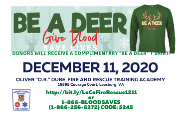 LC-CFRS DECEMBER 11, 2020 Blood Drive NF