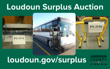 Link to information about the sale of Loudoun County government surplus
