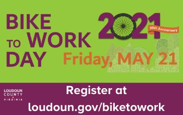 Link to information about Bike to Work Day 2021