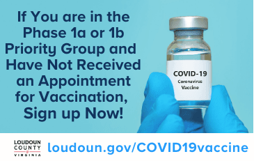 Link to information about signing up for the COVID-19 vaccine