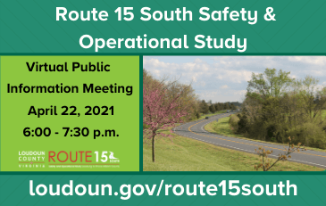 Link to information about the Route 15 south study