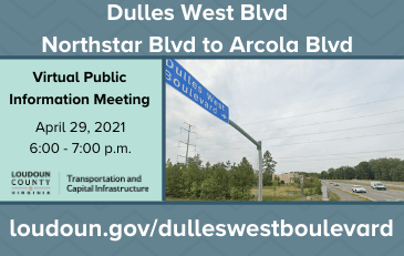 Link to information about the Dulles West Boulevard Extension Project