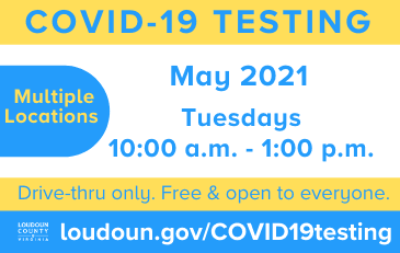 Link to information about COVID-19 testing events