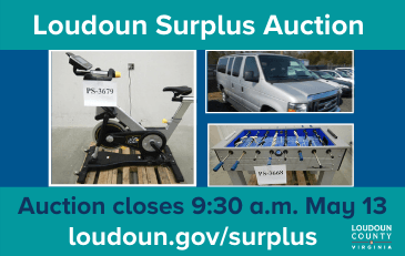 Link to information about the Loudoun County surplus auction